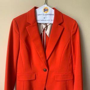 Hot Orange Blazer